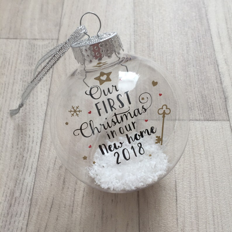 First Christmas In Our New Home 2019.Our First Christmas In Our New Home 2019 Bauble New Home Gift Christmas Bauble Moving House Gift