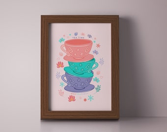 Mad Hatter's Tea Party Printable