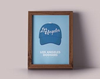 Los Angeles Dodgers 1958 Printable