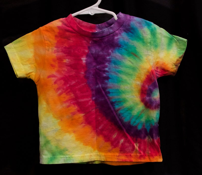 Tie dye toddler to youth rainbow sweatshirt