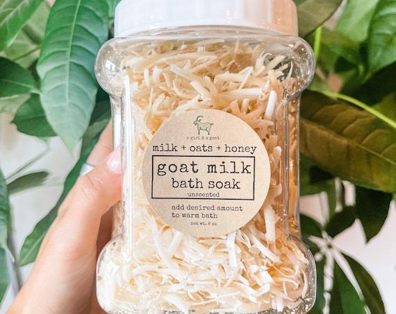 Goat milk & oats bath soak