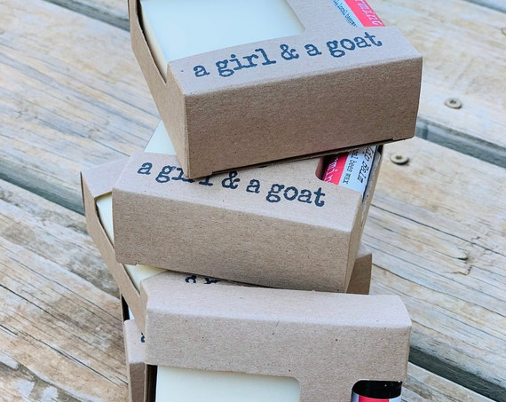 Goat milk soap & lip balm gift set
