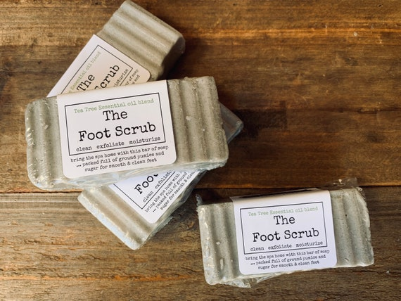 pumice & sugar foot scrub. The perfect self care foot scrub