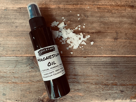 100% pure Magnesium Oil