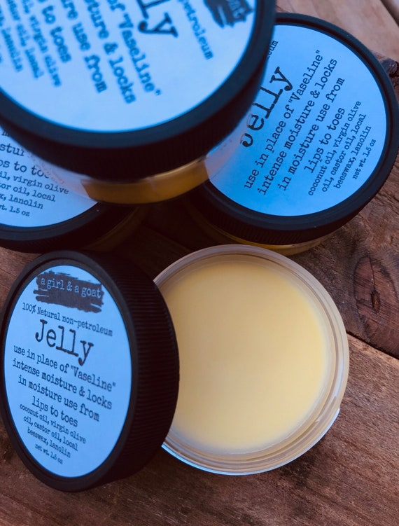 100% Natural all purpose Jelly (to replace petroleum Vaseline)