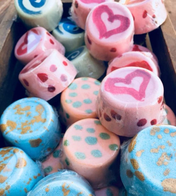 Bath Bombs. 6 full size. Skin softening and moisturizing. Great gift idea. Take time to relax.