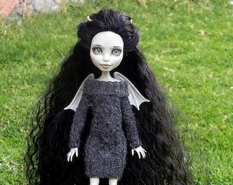 Aran dress for Monster High doll.
