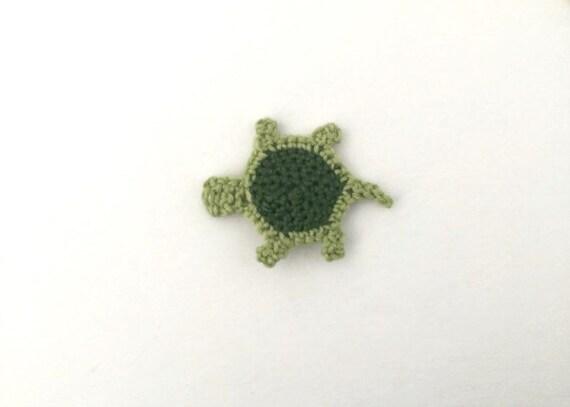 Haak Schildpad Stoffen Turtle Versiering Turtle Motief Etsy