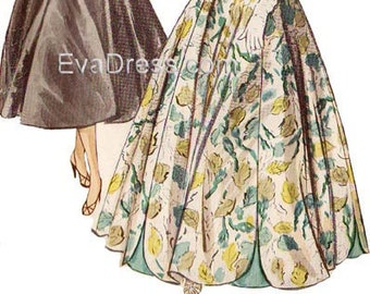 1954 Evening Halter Dress Pattern for Maddy by EvaDress