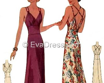 Formal Evening Gown Patterns