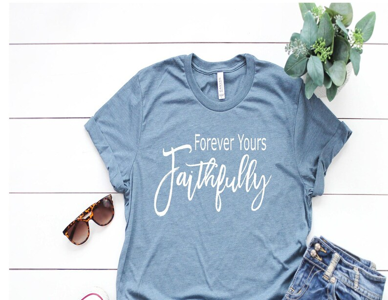 de51bdab2fb3d Forever Yours Faithfully Shirt Journey Shirts Music