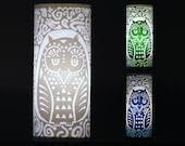 Owl Hidden Creature Accent Lamp - nightlight, luminary, mood lighting, bedside lamp, silhouette, magic forest