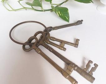 Brass decorative  keys