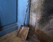 Forged Fireplace Shovel - Hand Forged - Fireplace Tool - Ash Shovel - Rustic Home - Hearth Tool - Firepit - Wrought Iron - Woodstove -