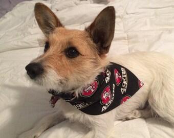0dae6ead5 San Francisco 49ers Dog Bandana