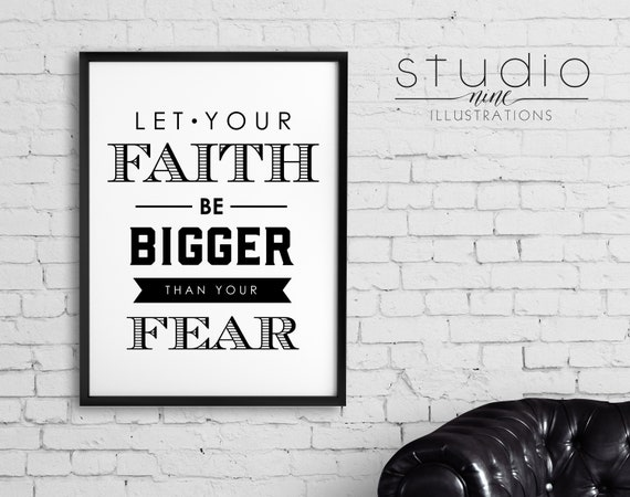Download Faith Svg * Let Your Faith Be Bigger Than Your Fear Cut File Crafter Files