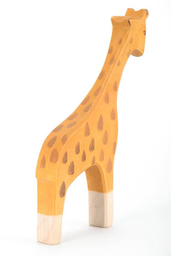 Wood Toy Giraffe