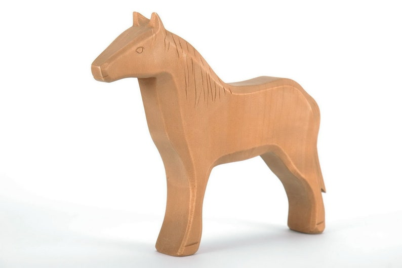 Cavallo Di Legno Giocattolo.Cavallo Di Legno Cavallo Del Giocattolo Giocattoli Eco Etsy