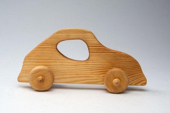 voiture en bois voiture jouets voiture en bois pour b b etsy. Black Bedroom Furniture Sets. Home Design Ideas