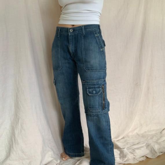 Vintage Y2K Guess Cargo Jeans 31x30