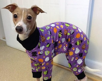 Pajama For Dog - Halloween For Dog - Dog Pajamas - Italian Greyhound Pajamas - Dog Clothes - Pet Pyjamas - Onesie for Dog - Dog Jumper