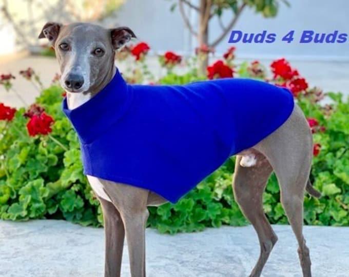 Italian Greyhound Clothing - Italy Greyhound - Dog Clothing - Dark Royal Blue Tee - Italian Greyhound Size