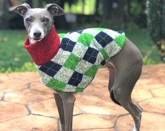Italian Greyhound Clothing - Italian Greyhound Sweater - Uncle Hairy - Small Dog Clothes - Dog Sweater - Sweater for Dog - Dog Apparel
