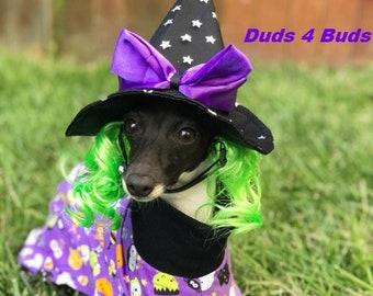 Italian Greyhound Clothing - Pet Accessories - Dog Pajama- Halloween For Dog - Dog Clothes - Pet Pyjamas - Onesie for Dog - Dog Jumper