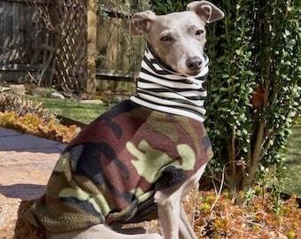 Italian Greyhound Clothing - Camo Jacket - Coat for Italian Greyhound - Dog Clothing - Pet Clothing - Small Dog Clothes - Dog Jacket