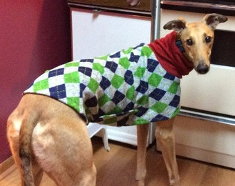 "Greyhound Sweater. ""Uncle Hairy's Stinky Sweater"" - Greyhound Sizes"