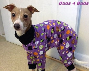Pajama For Dog - Halloween For Dog - Dog Pajamas - Italian Greyhound Pajamas - Dog Clothes - Pet Pyjamas - Onesie for Dog - Dog Jumper