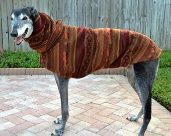 "Greyhound Coat. ""Big Bear's Winter Coat"" - Greyhound Sizes"