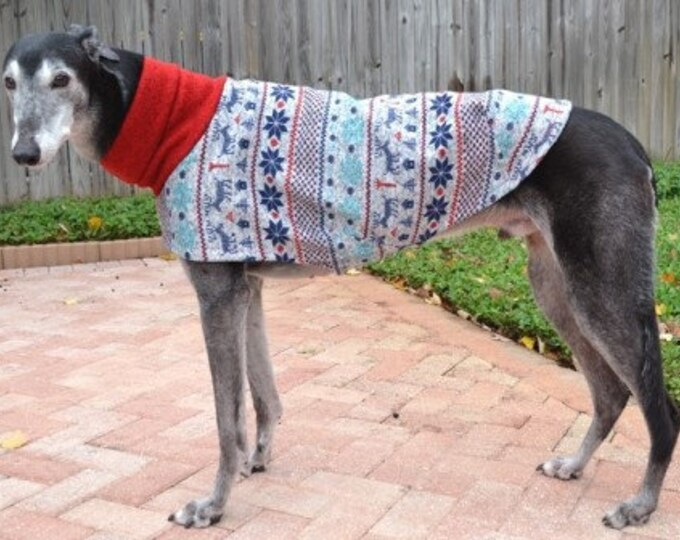 "Whippet Clothing. ""Winter Wonderland Sweater"" - Whippet Sizes"