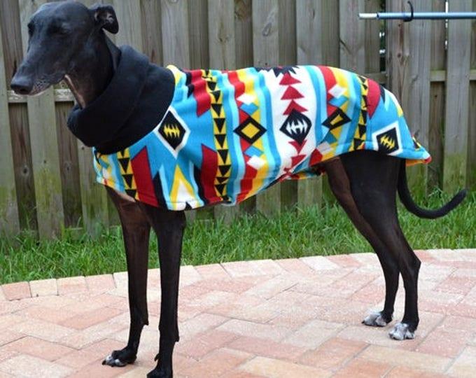 """Greyhound Coat. """"Brilliant Southwestern Cowl Neck Jacket"""" - Greyhound Sizes"""