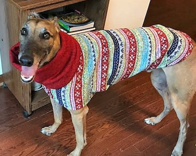 "Greyhound Sweater. ""Ugly Christmas Sweater"". Southern Living magazine. Greyhound Sizes"