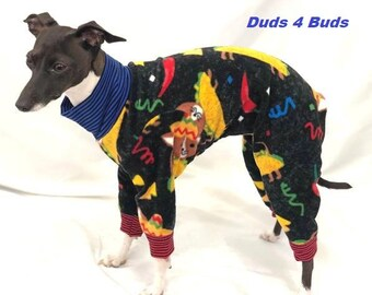 Italian Gryehound Clothing - Pajama For Dogs - Taco Dog - Italy Greyhound Clothing - Small Dog Clothes - Doy Dog Clothing -Onesie for Dog