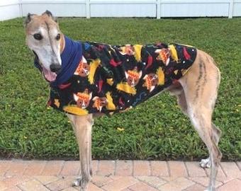 Greyhound Clothing - Greyhound Coat - Taco Chihuahua - Daycoat/Short Jacket - Greyhound Sizes