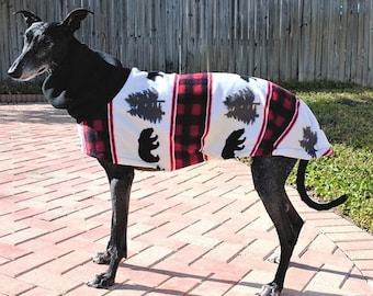 "Greyhound Coat. ""Bear Mountain Jacket"" - Greyhound Sizes"