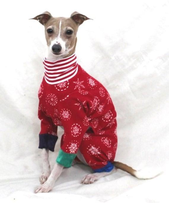 Christmas Pajamas For Dogs.Christmas Dog Pajamas Pajamas For Dogs Italian Greyhound Pajamas Pet Pyjamas Onesie For Dog Dog Pajamas Pet Clothing