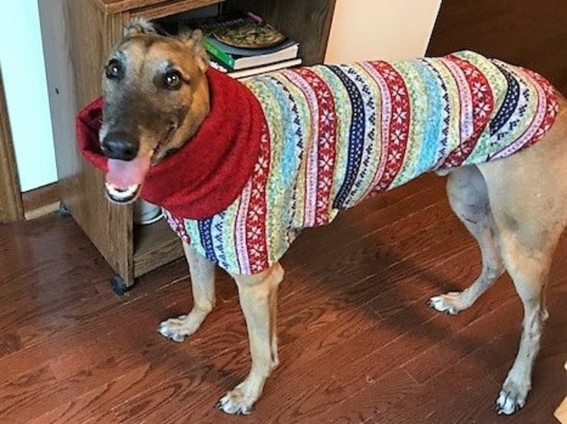 Greyhound Sweater. Ugly Christmas Sweater. Dog Christmas Sweater  35cf339a60e0