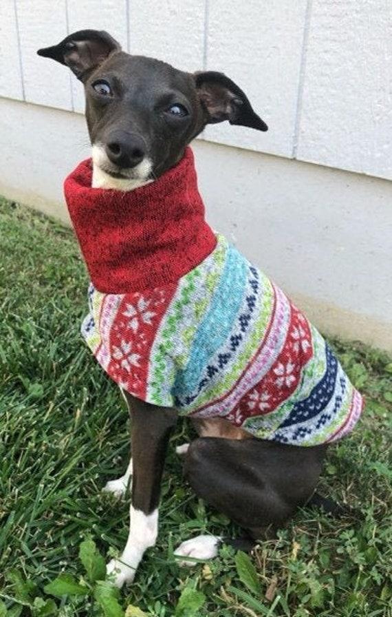 Ugly Dog Christmas Sweaters.Ugly Christmas Sweater Italian Greyhound Clothing Ugly Christmas Sweater For Dog Dog Sweater Dog Clothes Pet Clothing Dog Christmas