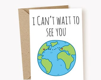 Miss you cards etsy i miss you card i cant wait to see you card funny greeting cards missing you cards cute cards long distance cards m4hsunfo