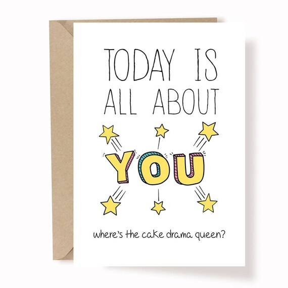 Funny Birthday Card Best Friend Birthday Card Birthday Etsy