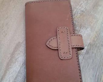 Kangaroo Leather Wallet with Balinese batik lining