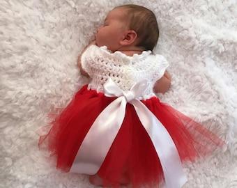 6ead6bb1c Red baby dress