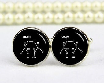 customized molecular formula cufflinks, custom any text, photo, personalized cufflinks, custom wedding cufflinks, groom cufflinks, tie clips