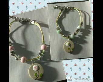 Set of two adorable bracelets