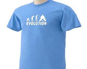 EVOLUTION ICE HOCKEY Goalie Ice Sport T-Shirt