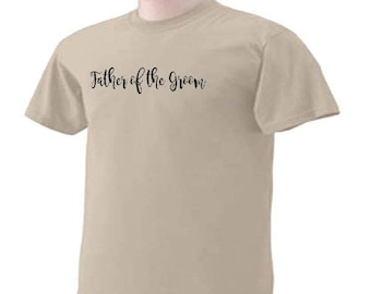 FATHER OF The GROOM 02 Wedding Bridal Party T-Shirt