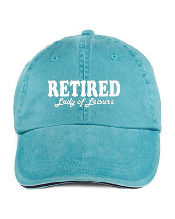 I/'m Retired But I Work Part Time As A Pain In The A** VINYL PRINT Cap Hat